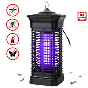 Mosquito Fly Bug Insect Zapper Killer Indoor Outdoor Electronic Light Trap Lamp