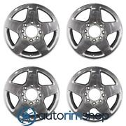 New 20 Replacement Wheels Rims For Gmc Sierra 2500 3500 2011-2016 Set Polish...