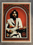Friendship And Support Red   George Harrison Obey Shepard Fairey Print The Beatles