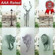 3d Static Art Frosted Designs Glass Door Window Film Privacy Sticker Home Decor