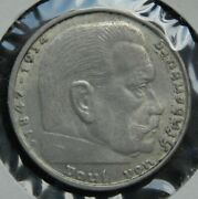 1938 2 Reichmark In Almost Uncirculated Condition