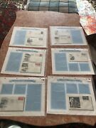 Air Mail First Day Covers Vintage Stamps/envelopes