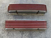 Vintage Cal Custom Valve Covers 40-1000 55 To Early 59 Chevrolet Corvette