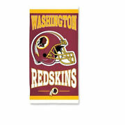 Officially Licensed Nfl Washington Redskins Beach Towel 30 X 60