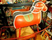 Amazing Vintage Rare Greek Penny Toy - Rocking Horse - From 60s
