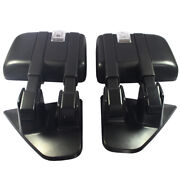 Black Power Heated Puddle Auxiliary Signal Tow Mirrors For 2004-2014 Ford F150
