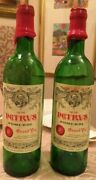 Chateau Petrus 1978 And 1976 Pomerol Empty Wine Bottles From Japan [used] B01560