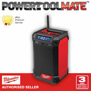 Milwaukee M12rcdab+-0 12v Radio And Charger Bare Unit