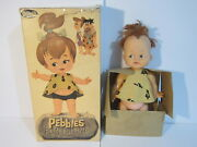 Vintage Pebbles Doll Hanna Barbera Flintstones From Rare Reliable Toys Not Ideal