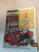 Early American Folk Art Book How To Paint Antique Designs Patterns Tole Painting