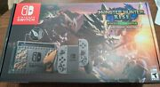 Nintendo Switch Monster Hunter Rise Deluxe Edition Console Ship Express Today