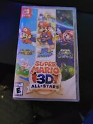 Sealed Super Mario 3d All-stars - Nintendo Switch No Longer Available In Stores