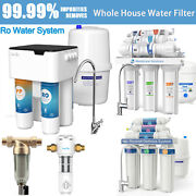5/6 Stage Undersink Reverse Osmosis System Water Filter Natural Ph Alkaline Nsf