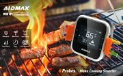 Digital Wireless Bbq Barbeque Meat Thermometer Grill With Stainless Steel Probe
