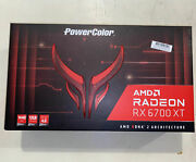 Powercolor Amd Radeon Rx 6700xt Red Devil 12gb Fast Shipping🚚💨✅ In Hand New