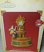Hallmark Collectible The Merry Old Toymaker Clock Windup New In Box