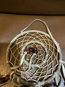 Vintage Handmade Dream Catcher With Feather Wall/car Hanging Decoration Ornament