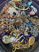 Over 5 Lbs No Junk Costume Jewelry,most Wearable All Good Condition