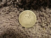 Us 1850 Liberty Seated Dime Coin Good Filler Fast Free Shipping