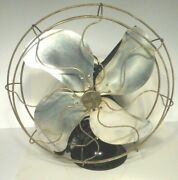 Vintage Working Signal 16 Oscillating Stainless Steel Blade / 3 Speed Fan