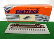 Lionel 6-12035 Fastrack Lighted Bumpers Set Of Two Nib