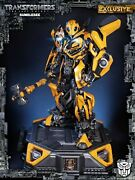 Bumblebee Statue By Prime 1 Studio Transformers The Last Knight Exclusive New