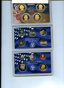 2007 - 2011 Proof Sets United States Us Mint Original Government Box And Coa