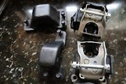 1969 Camaro 396 427 Motor Mount Kit Complete With Head Marked Bolts Copo L78