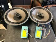 Altec Lansing 601c Duplex Speakers And N3000-e Crossovers
