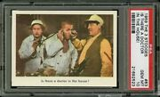 1959 Fleer Three Stooges 83 Is There A Doctor In The House Psa 10 Gem, Pop 6