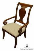 Stanley Furniture Encore Collection Cherry Dining Arm Chair 137-11-70