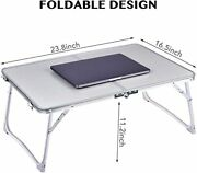 The Desks For Laptops Can Be Folded And Can Be Used As A Meal Serving Tray