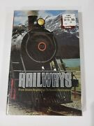 Railways Dvd And Booklet Collectable Set Over 24 Hours Of Trains And Tracks