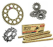 Ducati 1098 2007 2008 2009 Renthal Did Racing Chain And Sprocket Kit With Carrier