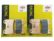 Ducati 996 St4s 02 03 04 05 06 Sbs Race Sintered Front Brake Pads 706rs