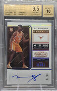 2018-19 Contenders Mo Bamba Rookie Rc Auto 8/15 Variation Bgs 9.5/10 Gem Mint