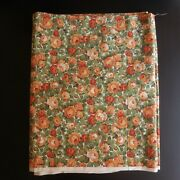 Coupon Fabric Flowerwork Wireless Cotton Polyester Upholstery Home Art Deco