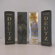 4 Wrappers Packaging Advertising Paper Champagne Deutz Moet And Chandon France