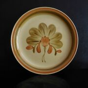 Plate Ceramic Earthenware Ramako Gien Painted To La Hand New Art France N3054