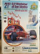 Formula 1 Collectable San Marino Warsteiner 2001 Official Poster