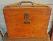 Antique Keuffel And Esser Transit Np5155 With Box