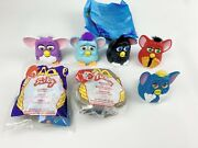 1998 Mcdonalds Kid / Collectibles Happy Meal Furby Toys Lot