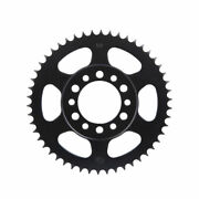 Primary Drive Rear Steel Sprocket 50 Tooth Black - Fits Yamaha Xt350 1985-2000