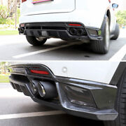 For Jaguar E-pace 2018-2020 Dry Carbon Fiber Rear Lip And Rear Tail Exhaust Pipe
