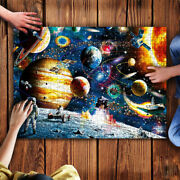 Space Astronaut Planets Jigsaw Puzzle, 500 Pieces