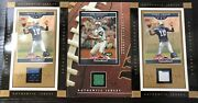 Vintage Sports Cards Joe Namath And Vince Young Jersey Relic Card Lot