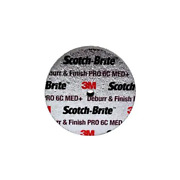 Scotch-brite Deburr And Finish Pro Unitized Wheel,3 In X 1 In X 3/8 In, 6c Med+