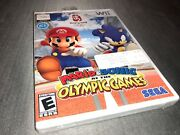 Mario And Sonic At The Olympic Games Nintendo Wii, 2007 Factory Sealed