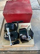 Vintage Pre-garcia Mitchell 301 Spinning Reel Rare Engraved New In Original Box