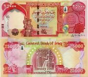 250000 New Iraqi Dinars - 2013+ With New Security Features - Iraq Dinar Unc